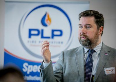 Shaun Lundy at the PLP Event