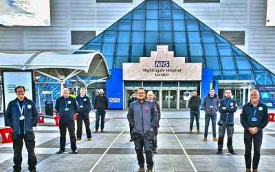 PLP Fire Protection at London's NHS Nightingale Hospital