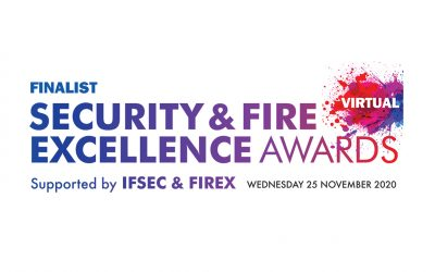 PLP Announced as Finalists for the Security & Fire Excellence Awards 2020