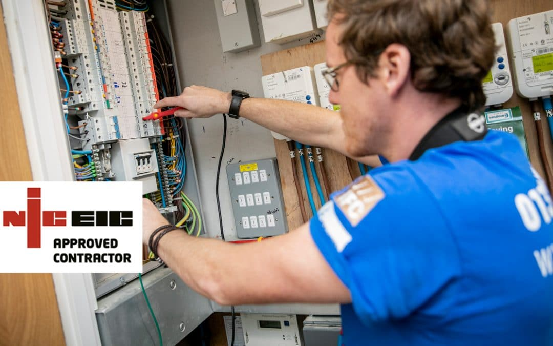 PLP Awarded NICEIC Approved Contractor