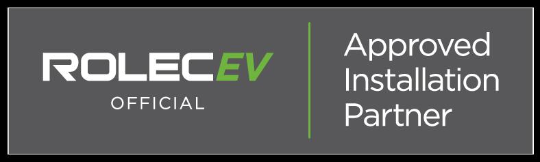 Rolec EV Official Installer Badge
