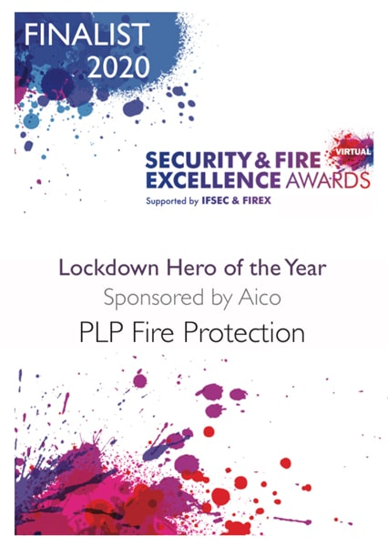 Lockdown Hero of the Year 2020 certificate