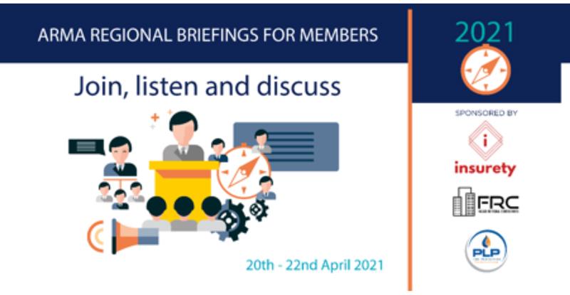ARMA Regional Briefings for Members 2021