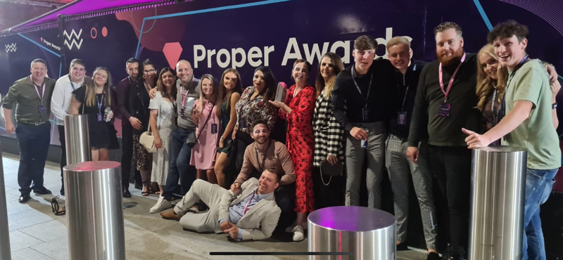 PLP Win Big at the 'Proper Awards'